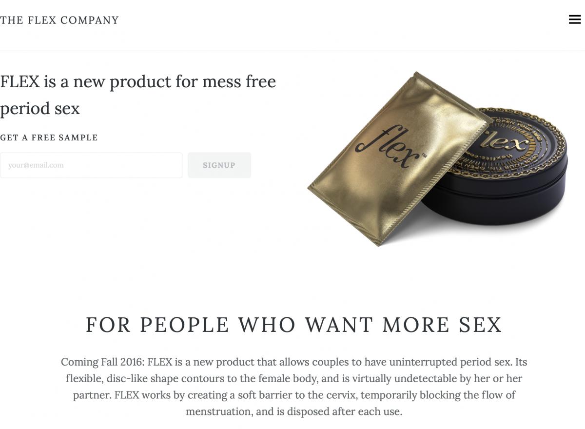 mess free period sex